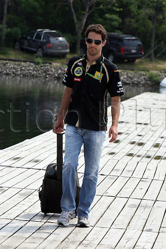 06.10.2011, Montreal, Canada. Formula 1 Grand Prix.   Bruno Senna, Lotus Renault, ..