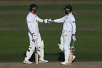 Murali Vijay (R) and Tom Westley of Essex during Nottinghamshire CCC vs Essex CCC, Specsavers County Championship Division 1 Cricket at Trent Bridge on 12th September 2018