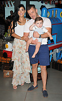 Cara De La Hoyde and her family at the &quot;Thomas &amp; Friends: Big World! Big Adventures!&quot; UK film premiere, Vue West End, Leicester Square, London, England, UK, on Saturday 07 July 2018.<br /> CAP/CAN<br /> &copy;CAN/Capital Pictures
