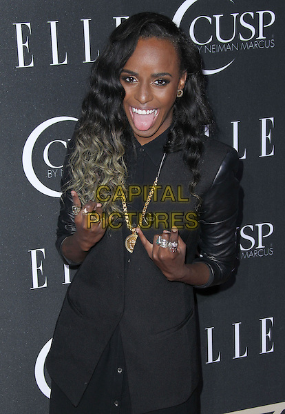22 April 2014 - Hollywood, California - Angel Haze. ELLE Hosts 5th Annual Women in Music Concert Celebration Presented by CUSP By Neiman Marcus held at Avalon Hollywood.  <br /> CAP/ADM/FS<br /> &copy;Faye Sadou/AdMedia/Capital Pictures