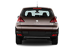 Straight rear view of 2014 Peugeot 3008 5 Door SUV 2WD