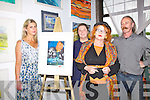 At the opening of Art 250 in Waterville on Friday night were l-r; Louise Huggard, Aoifa Murphy, Noelle Campbell-Sharp & Ger O'Connell.  Over 150 pieces from Irish and International artist's were up for sale for EUR250 each, the buyer does not know the artist and so buys with their eyes, all the art work has a real value of between EUR300 - EUR3,000.  This is the first of 12 pop up exhibitions to be staged in Waterville over the next 4 weeks.
