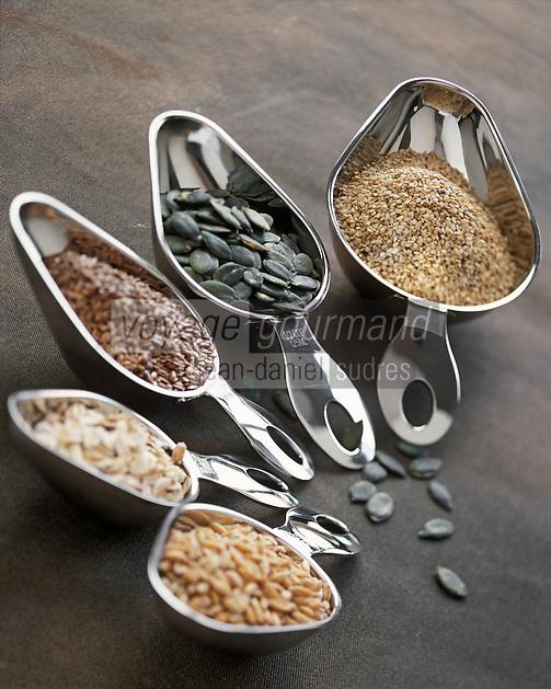 Gastronomie générale / Cuisine générale : Boulangerie Choix de céréales pour les pains