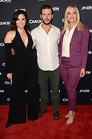 """LOS ANGELES - JAN 14:  Katrina Law, Ryan Kwanten, Elisabeth Rohm at the Crackle's """"The Oath"""" Photo Call at the Langham Huntington Hotel on January 14, 2018 in Pasadena, CA"""