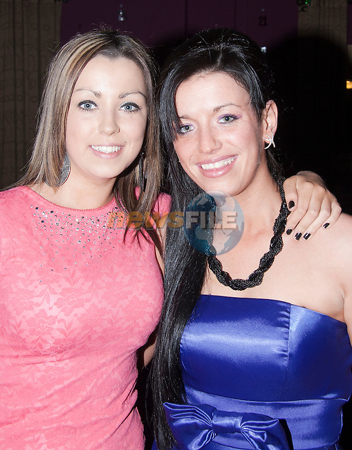 Kiera Lynch with Sandra O' Sullivan at Sandra's 21st in the Star And Crescent..Picture: Shane Maguire / www.newsfile.ie.