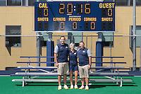 Berkeley, Ca - August, 13, 2016: Cal Field Hockey Portraits.