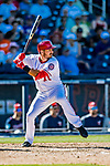 2 March 2019: Washington Nationals infielder Jake Noll at bat during a Spring Training game against the Minnesota Twins at the Ballpark of the Palm Beaches in West Palm Beach, Florida. The Nationals defeated the Twins 10-6 in Grapefruit League play. Mandatory Credit: Ed Wolfstein Photo *** RAW (NEF) Image File Available ***