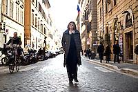 Roma, 1 Febbraio, 2013. La scrittrice Spagnola Alicia Giménez Bartlett .