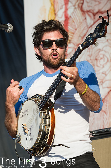 Scott Avett of The Avett Brothers performs during Day 1 of the 2013 Firefly Music Festival in Dover, Delaware.