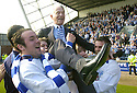 14/04/2007       Copyright Pic: James Stewart.File Name : sct_jspa10_raith_rovers_v_morton.MORTON CHAIRMAN DOUGLAS RAE CELEBRATES WINNING THE LEAGUE WITH THE TEAM....James Stewart Photo Agency 19 Carronlea Drive, Falkirk. FK2 8DN      Vat Reg No. 607 6932 25.Office     : +44 (0)1324 570906     .Mobile   : +44 (0)7721 416997.Fax         : +44 (0)1324 570906.E-mail  :  jim@jspa.co.uk.If you require further information then contact Jim Stewart on any of the numbers above.........