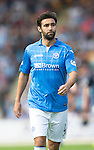 St Johnstone v Dundee...13.09.14  SPFL<br /> Simon Lappin<br /> Picture by Graeme Hart.<br /> Copyright Perthshire Picture Agency<br /> Tel: 01738 623350  Mobile: 07990 594431
