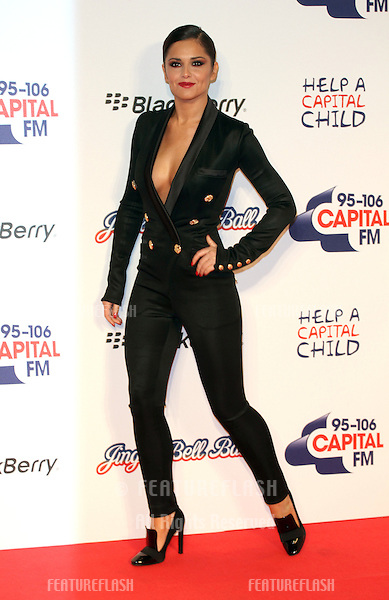 Cheryl Cole arriving for the Capital Radio Jingle Bell Ball, O2 Arena, London. 08/12/2012 Picture by: Alexandra Glen / Featureflash