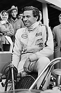 Watkins Glen, New York, USA. 01 Oct 1967. Scottish Formula One race car driver Jim Clark attends the 1967 Watkins Glen Formula One Grand Prix. Clark finished first in the race.
