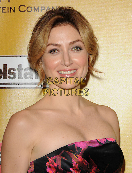SASHA ALEXANDER .At Weinstein Company Post Golden Globe Party held at Bar210 & Plush Ultra Lounge in Beverly Hills, California, USA. January 17th, 2010                                                                   globes headshot portrait bare shoulders strapless pink black.CAP/DVS.©Debbie VanStory/Capital Pictures