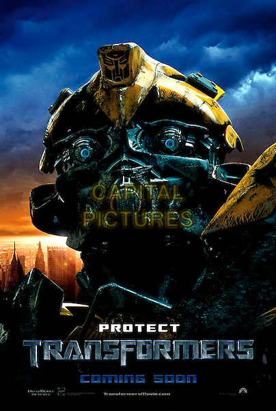 POSTER ART.in Transformers .**Editorial Use Only**.CAP/FB.Supplied by Capital Pictures