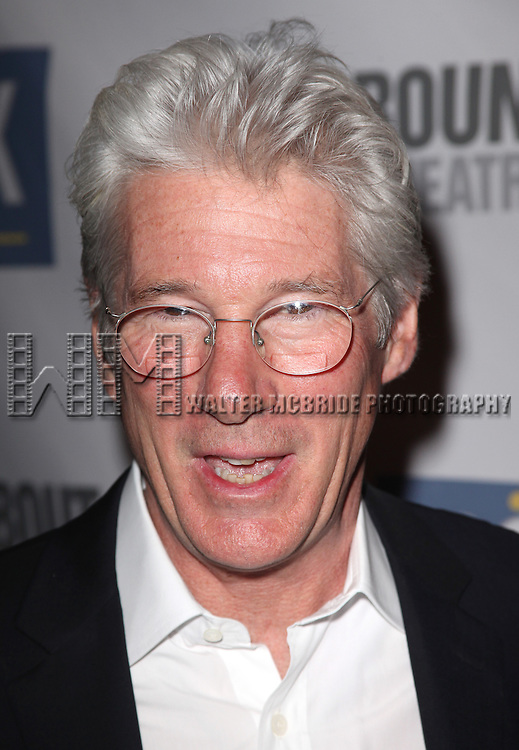 Richard Gere.attends The Roundabout Theatre 2012 Spring Gala 'From Screen to Stage' dinner and auction at the Hammerstein Ballroom on March 12, 2012 in New York City.