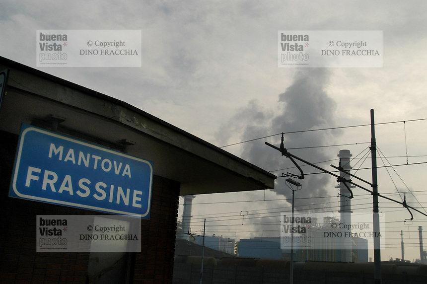 - Mantova, chemical industrial area, power station ENI Power<br />