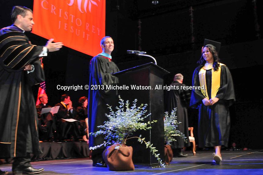 Cristo Rey Jesuit 2013 Graduation at Bayou Music Center