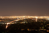 CALIFORNIA, Los Angeles, Nightview of Los Angeles