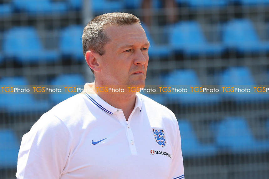 England Under 20 Manager, Aidy Boothroyd - Ivory Coast Under-20 vs England Under-20 -2015 Toulon Tournament Football at Stade Leo Lagrange, Toulon, France - 30/05/15 - MANDATORY CREDIT: Paul Dennis/TGSPHOTO - Self billing applies where appropriate - contact@tgsphoto.co.uk - NO UNPAID USE