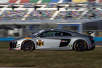 IMSA Continental Tire SportsCar Challenge<br /> December Test<br /> Daytona International Speedway<br /> Daytona Beach, FL USA<br /> Wednesday, 06 December, 2017<br /> 72, Audi, Audi R8 GT4, GS, <br /> World Copyright: Brian Cleary<br /> LAT Images