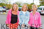 Caroline Kennedy, Brenda Lynch and Audrey Moran attending the Ita Barry Memorial MS Society Charity Walk at the Rose Hotel on Sunday