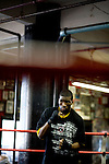 Phillip Jackson-Benson of South Jamaica, Queens, is 21 years old and has been boxing for 3 years. He fought last year in the Golden Gloves but lost in a 2nd round split decision.. Gleason's Gym has continued its long standing tradition in the boxing world as a training ground of competitors by putting 5 fighters into the finals of the 2006 Golden Gloves amateur boxing competition.. An inside look at the last 10 days of training for the 5 young fighters.