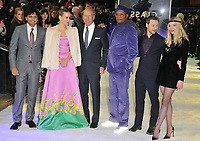 M. Night Shyamalan, Sarah Paulson, Bruce Willis, Samuel L Jackson, James McAvoy and Anya Taylor-Joy at the &quot;Glass&quot; UK film premiere, Curzon Mayfair, Curzon Street, London, England, UK, on Wednesday 09 January 2019.<br /> CAP/CAN<br /> &copy;CAN/Capital Pictures