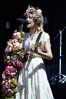 WEST PALM BEACH, FL - AUGUST 09: Grace VanderWaal performs at The Coral Sky Amphitheatre on August 9, 2018 in West Palm Beach Florida. Credit: mpi04/MediaPunch