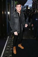 Sam Prince<br /> arriving for James Ingham's Jog on to Cancer 2018 at Cafe de Paris, London<br /> <br /> ©Ash Knotek  D3391  04/04/2018