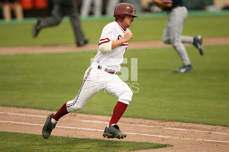 25 April 2007: Adam Sorgi during Stanford's 7-2 win over Fresno State at Sunken Diamond in Stanford, CA.