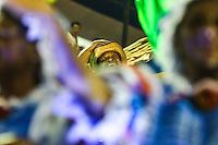 RIO DE JANEIRO, RJ, 12 DE FEVEREIRO 2013 - CARNAVAL RJ -  VILA ISABEL -O cantor Martinho da Vila desfila na escola de Samba Vila Isabel  durante segundo dia de desfiles do Grupo Especial do Carnaval do Rio de Janeiro na Marques de Sapucaí madrugada desta terça-feira, 12. (FOTO: WILLIAM VOLCOV / BRAZIL PHOTO PRESS).