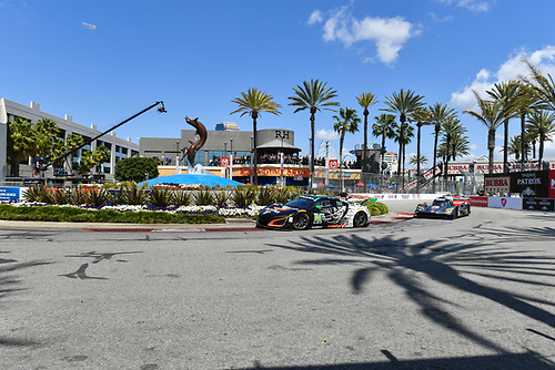 2017 IMSA WeatherTech SportsCar Championship<br /> BUBBA burger Sports Car Grand Prix at Long Beach<br /> Streets of Long Beach, CA USA<br /> Saturday 8 April 2017<br /> 86, Acura, Acura NSX, GTD, Oswaldo Negri Jr., Jeff Segal<br /> World Copyright: Richard Dole/LAT Images<br /> ref: Digital Image RD_LB17_312