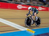 26th January 2020; National Cycling Centre, Manchester, Lancashire, England; HSBC British Cycling Track Championships;  Female 500m TT final Georgia Holt - slow pan shot