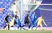 Gwion Edwards of Ipswich Town fires in the hosts second goal during Ipswich Town vs Wigan Athletic, Sky Bet EFL League 1 Football at Portman Road on 13th September 2020