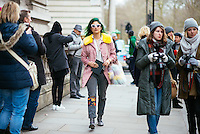 Preetma Singh at London Fashion Week (Photo by Hunter Abrams/Guest of a Guest)