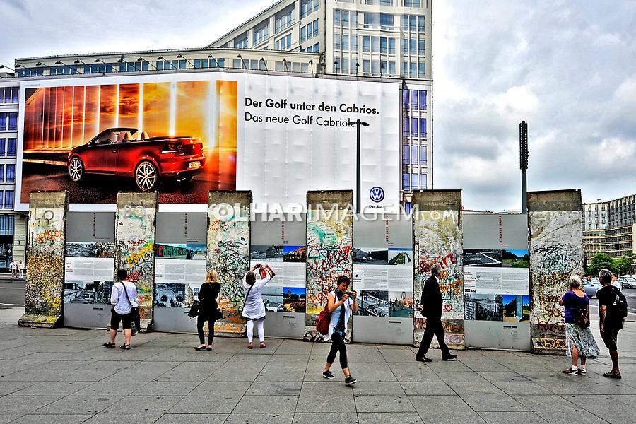 Memorial do Muro de Berlin. Alemanha. 2011. Foto de Juca Martins.