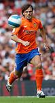 Valencia's Fernando Morientes..Pic SPORTIMAGE/Simon Bellis