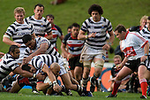Air New Zealand Cup rugby game bewteen Counties Manukau Steelers & Auckland, played at Growers Stadium Pukekohe on Sunday August 3rd..The Counties Manukau Steelers won 17 - 6 & claimed the Dan Bryant Memorial trophy for the first time since 1998.