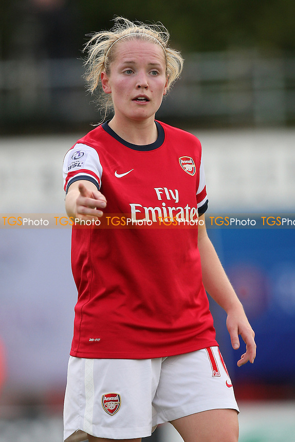 Kim Little of Arsenal - Arsenal Ladies vs FC Barcelona - UEFA Womens Champions League Round of 32 2nd Leg Football at Boreham Wood FC - 04/10/12 - MANDATORY CREDIT: Gavin Ellis/TGSPHOTO - Self billing applies where appropriate - 0845 094 6026 - contact@tgsphoto.co.uk - NO UNPAID USE.