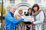 Shane Kelly, Sheila Casey, Anne Looney and Marie Carroll-O'Sullivan looking at old photos for the Torc Hotel 1995-97 Cert Training College reunion which will be held in the Killarney Avenue Hotel