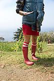 USA, California, Big Sur, Esalen, gardner Kat at The Farm, the Esalen Institute