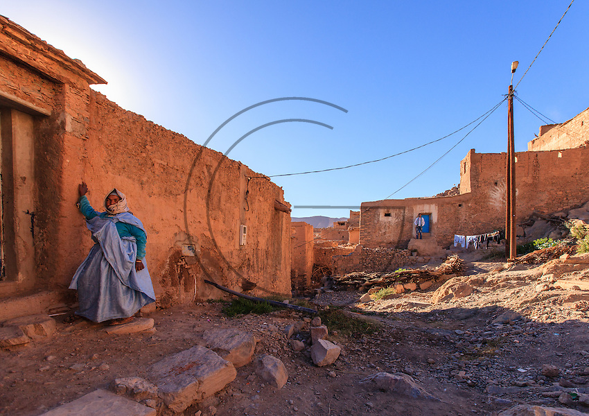 Africa,Morocco,The Enchanted Valley, village