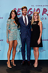 "Sergio Ramos, Pilar Rubio and Georgia Brown attends to ""El Corazon De Sergio Ramos"" premiere at Reina Sofia Museum in Madrid, Spain. September 10, 2019. (ALTERPHOTOS/A. Perez Meca)"
