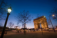 Europe/France/Ile-de-France/75008/Paris : L'Arc de Triomphe -Place Charles de Gaulle