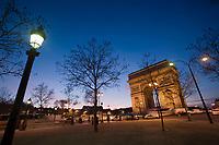 Europe/France/Ile-de-France/75008/Paris: L'Arc de Triomphe -Place Charles de Gaulle