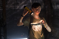 It (2017)<br /> JAEDEN LIEBERHER as Bill Denbrough <br /> *Filmstill - Editorial Use Only*<br /> CAP/KFS<br /> Image supplied by Capital Pictures