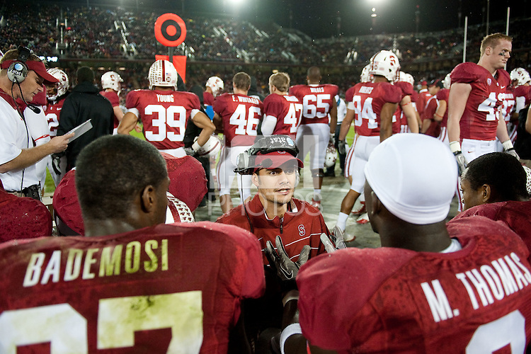 The Stanford Cardinal defeated the California Golden Bears 31-28.