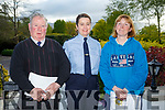 Kerry Garda Divisional community alert, Neighbourhood Watch and Text Alert meeting at Ballygarry House Hotel on Monday. Pictured Sneem Community alert text Group Eugene McGuinness, Garda Sgt Eileen O'Sullivan and Sheila Galvin