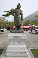 The Twelve Divine Generals - The General Catura - at Ngong Ping Village, Lantau Island, Hong Kong, China